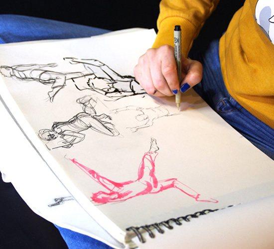 formation arts graphiques concept art brassart