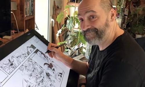 Jean-Louis Mourier : parrain formation dessinateur bd paris