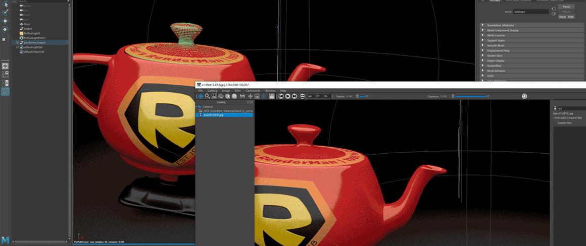 logiciel animation RenderMan