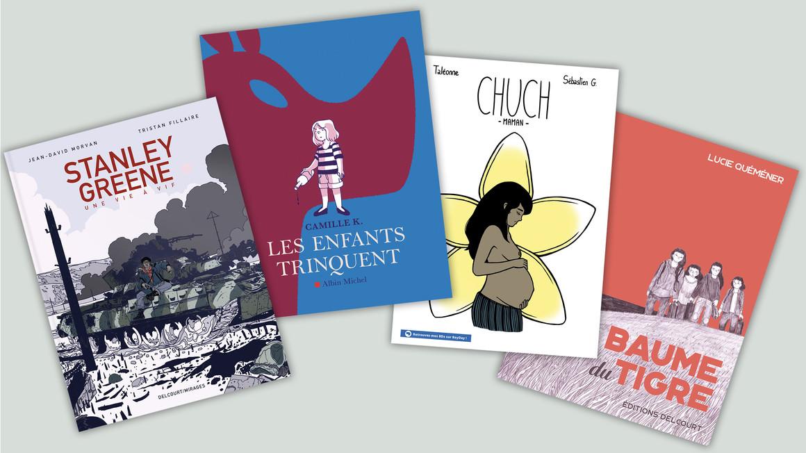 Les albums de bande dessinée des diplômés de l'Académie Brassart-Delcourt