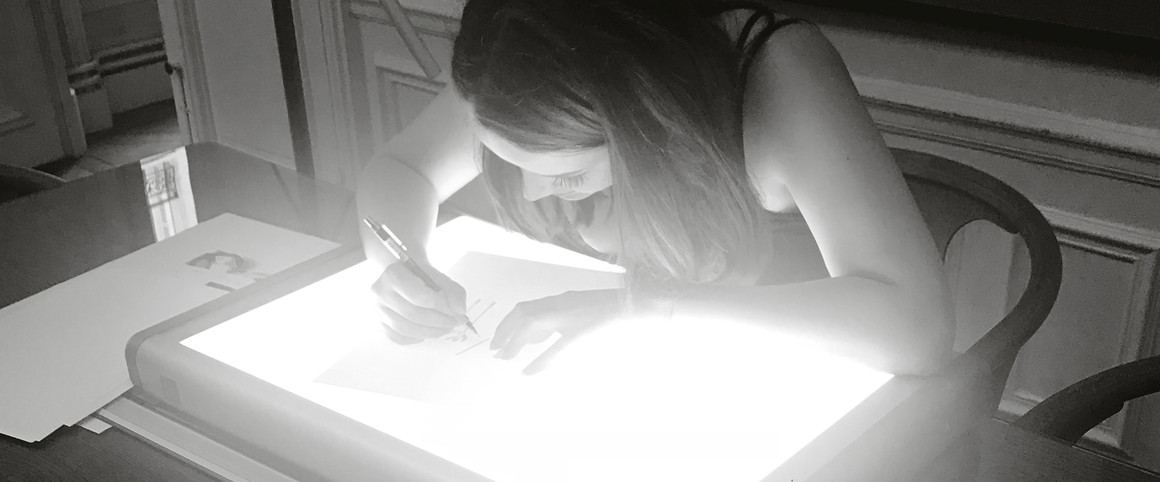 Charlotte Masala maitrise tant les arts numériques que traditionnels