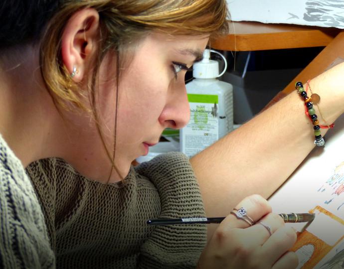 Actu BRASSART : Académie Brassart-Delcourt Alumni – Dessinatrice, coloriste et scénariste de bande dessinée