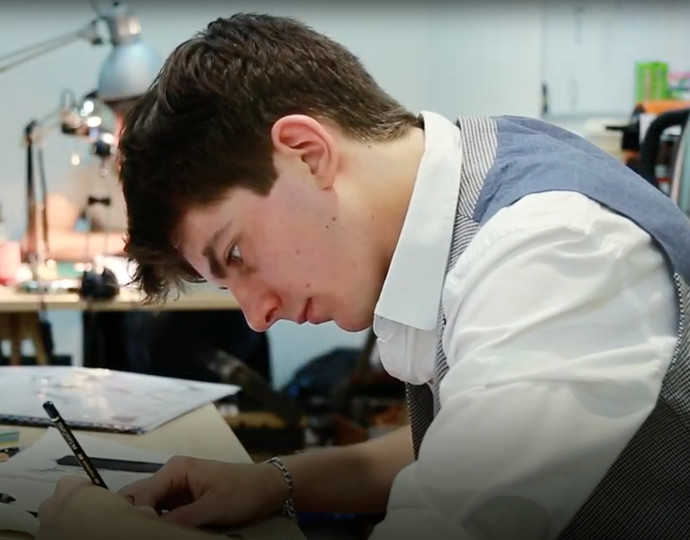 Académie Brassart-Delcourt Alumni – Premier contrat aux Éditions Soleil pour ce jeune diplômé