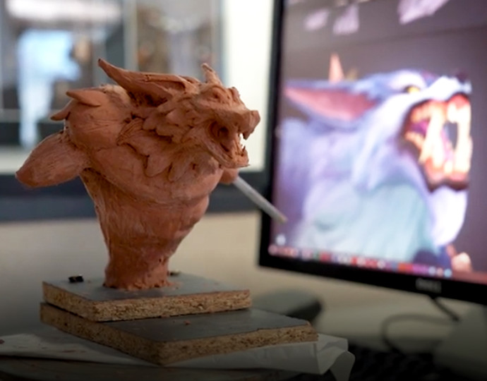 De la sculpture traditionnelle à la modélisation 3D
