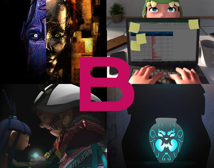 """Projets de fin d'études """"Cinéma d'animation 3D & VFX"""" - Promotion 2020"""
