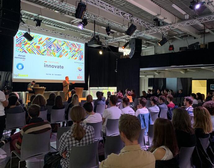 Actu BRASSART : L'expertise et la créativité des étudiants BRASSART au cœur du programme Innovate