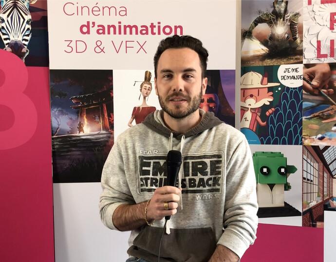 """Nos intervenants professionnels - Formation """"Animation 3D & Effets spéciaux"""""""