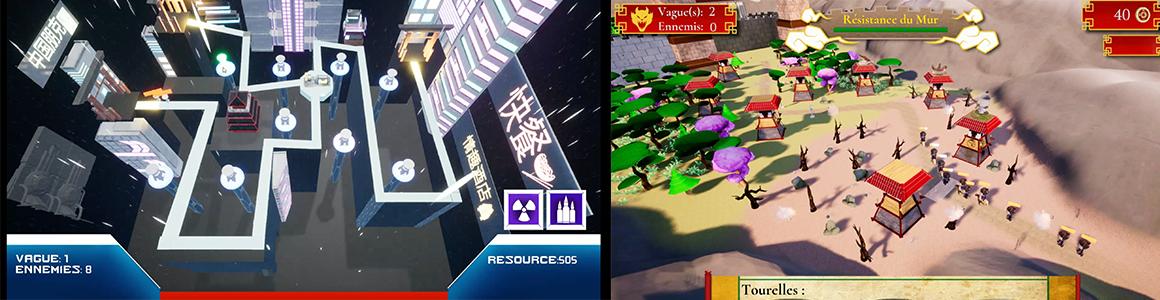 Formation jeu vidéo - Workshop Tower Game