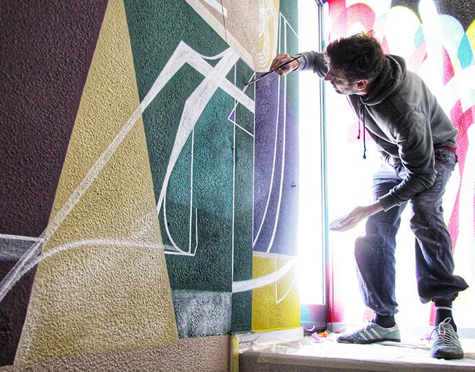 Semaine de l'art urbain et contemporain à Lyon !