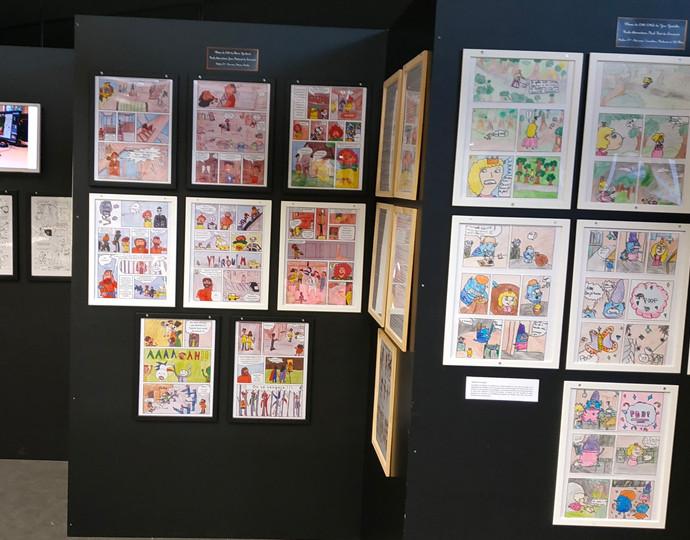 """Actu Brassart : Nos étudiants en stage au festival de bande dessinée """"Faites des Bulles"""""""