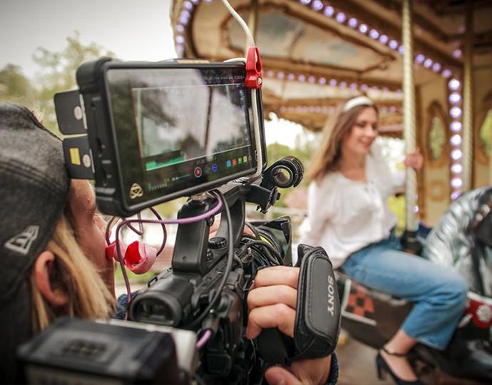 Réalisation d'un clip avec l'artiste Joss Bari
