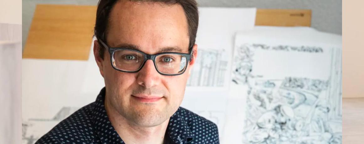 Loic Chevallier : Alumni Brassart et auteur de bande dessinnée