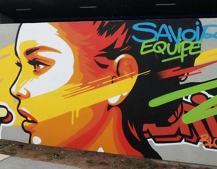 Actu Brassart : Brassart Alumni : Le street-art avec Kevin Le Gall