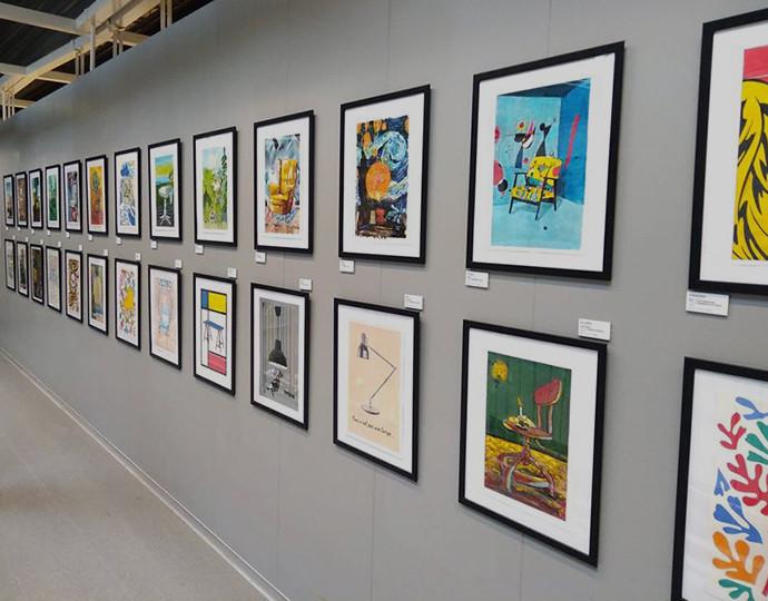 Actu Brassart : Exposition design graphique chez IKEA