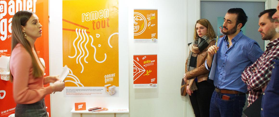 projets de fin d'études de l'école de design graphique Brassart Tours