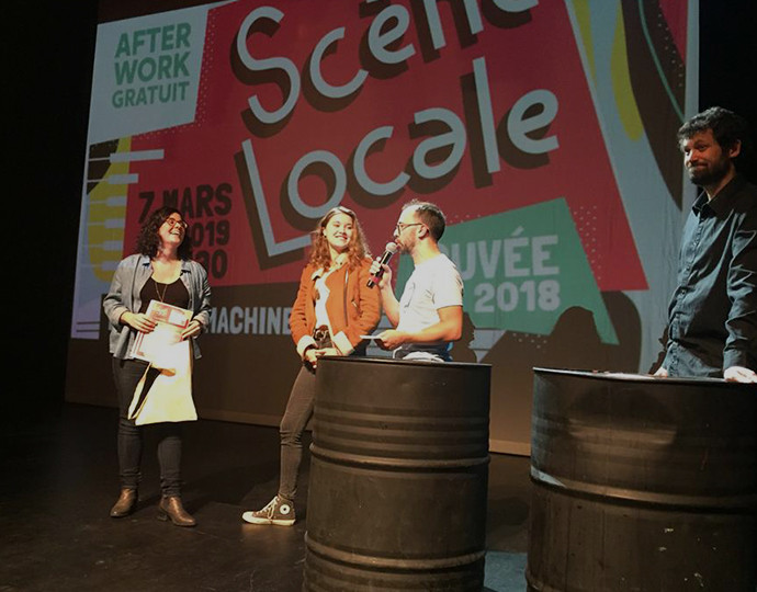 Actu Brassart : Création d'une affiche pour Scène Locale