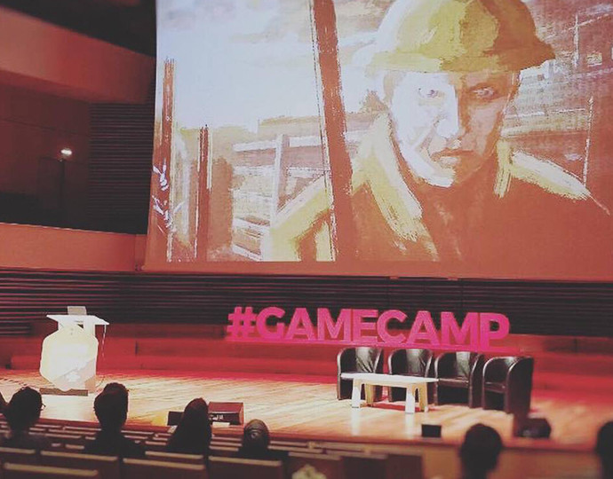 Actu Brassart : En direct du Game Camp France