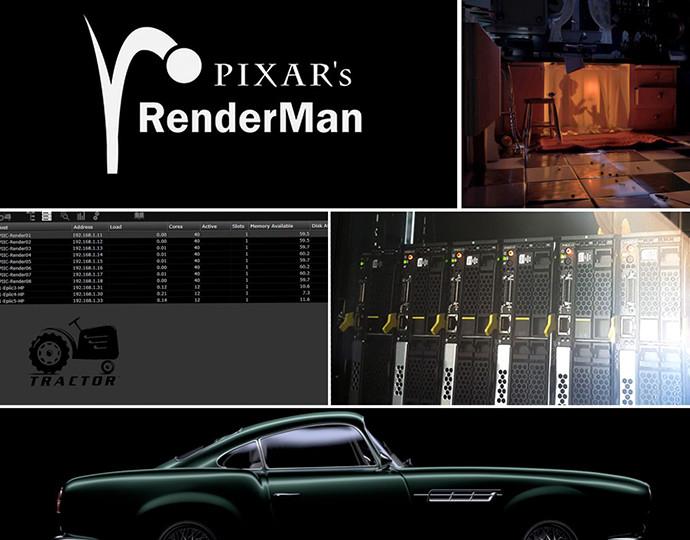 Notre partenariat avec RenderMan