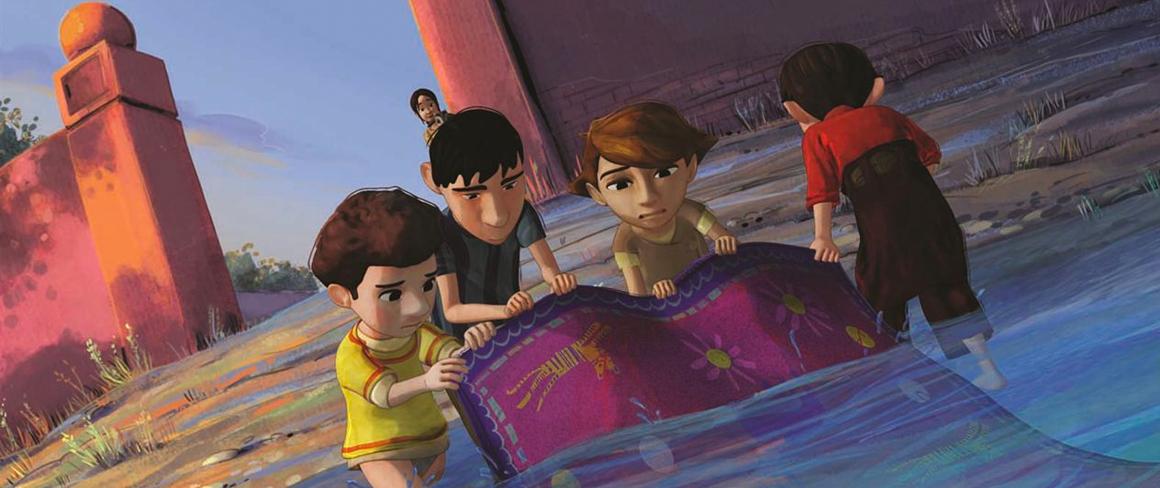 film d'animation « Iqbal, l'enfant qui n'avait pas peur »