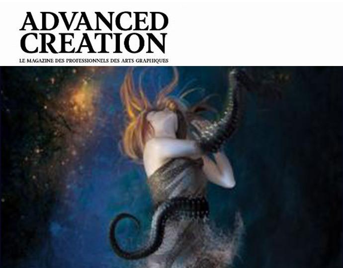 Actu BRASSART : Une étudiante publiée dans Advanced Creation