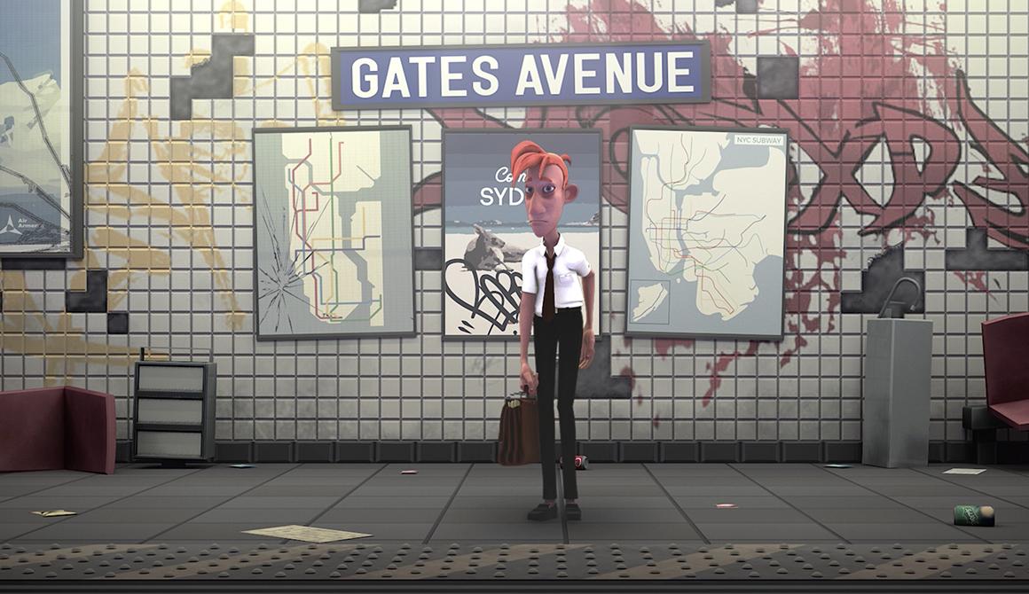 Bad Days : projet bachelor animation - 3d vfx & jeux vidéo / game art