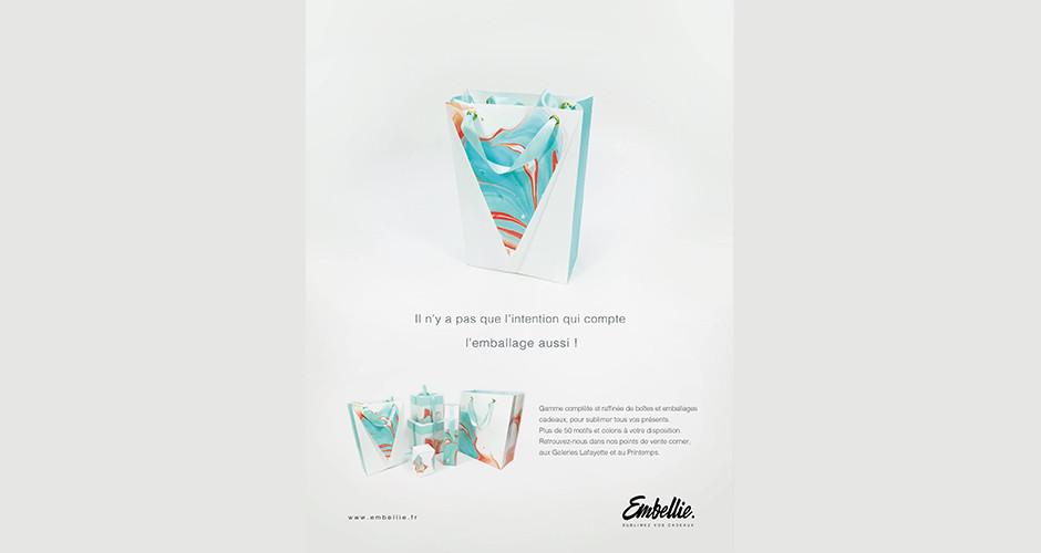 projet école design graphique et digital : Embellie