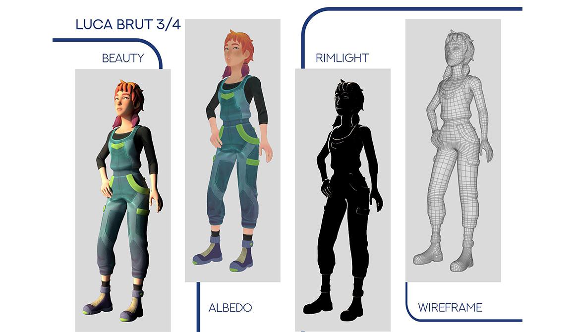 Read only Memory : projet bachelor animation - 3d vfx & jeux vidéo / game art