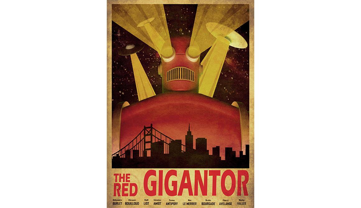 Gigantor : projet bachelor animation - 3d vfx & jeux vidéo / game art
