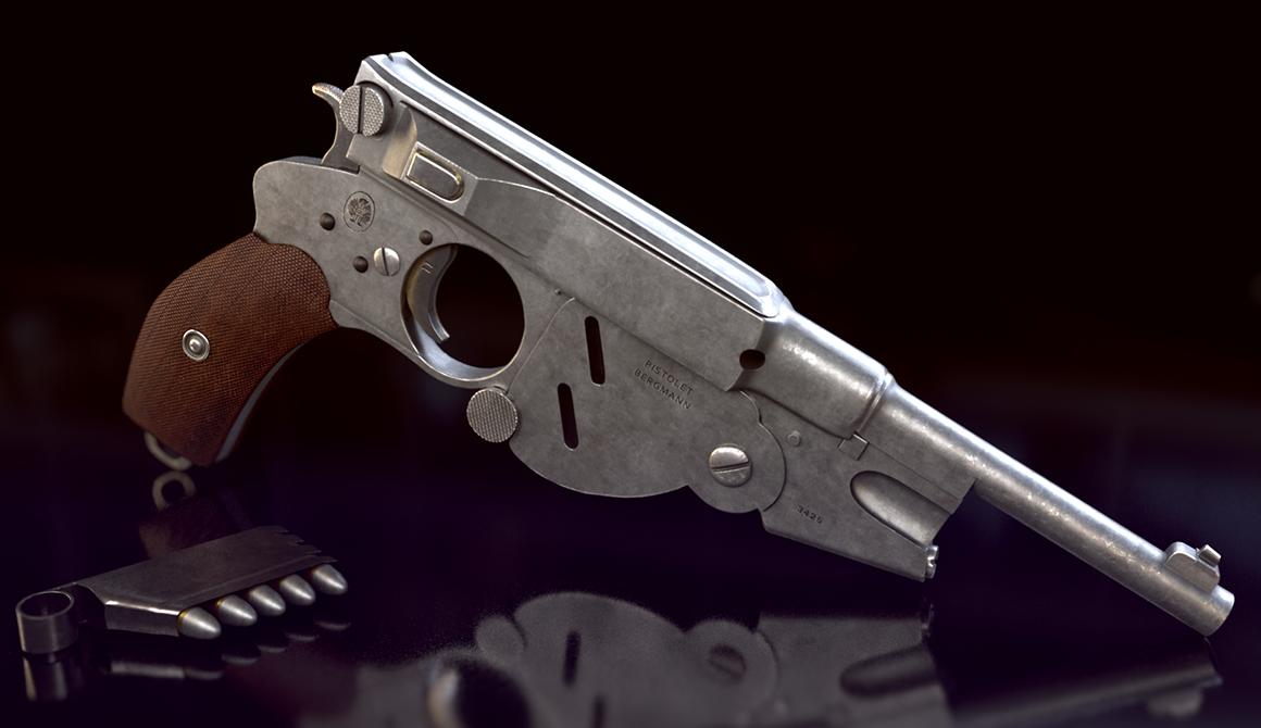 Pistolet : projet bachelor animation - 3d vfx & jeux vidéo