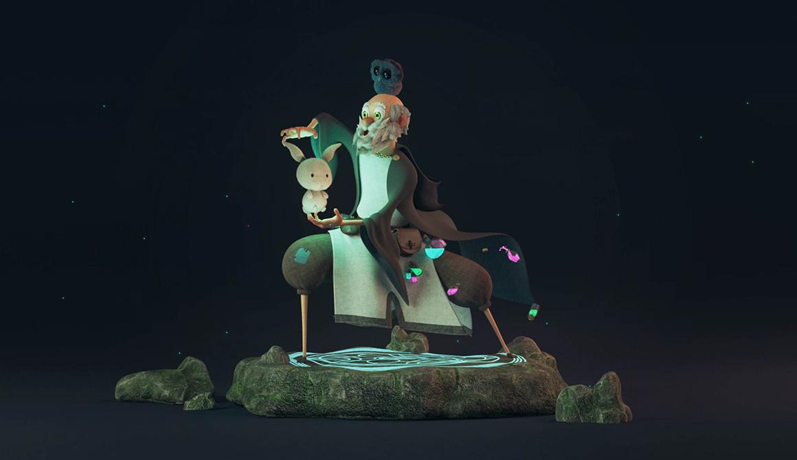 Merlin : projet bachelor animation - 3d vfx & jeux vidéo / game art