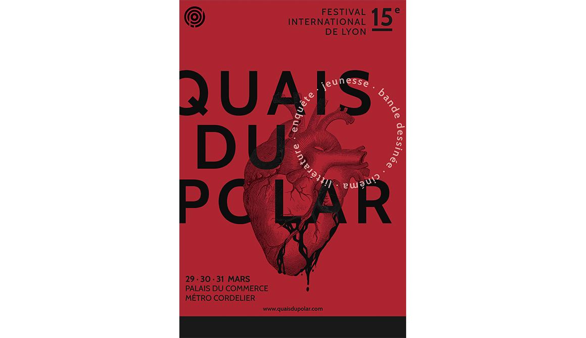 Quais du Polar : projet bachelor design graphique et multimédia