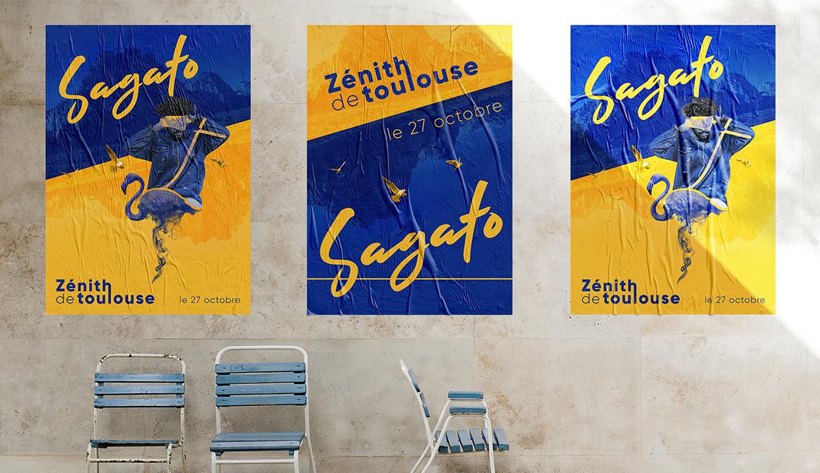 Sagato : projet cycle infographiste et multimédia