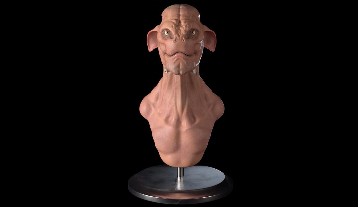 Alien : projet bachelor animation - 3d vfx & jeux vidéo / game art