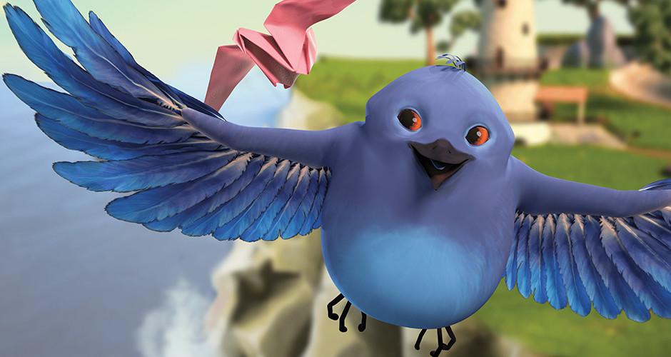 projet école animation 3d et vfx : Chronique d'un oiseau en papier Q