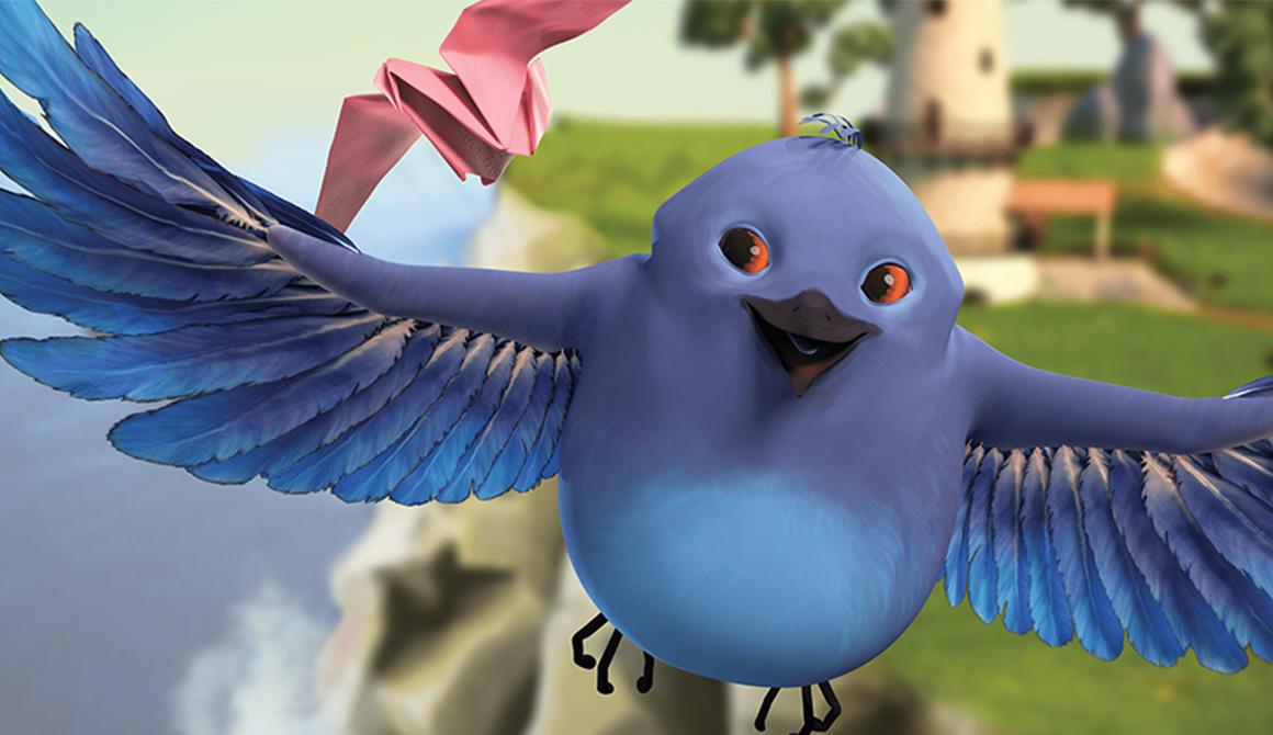 Chronique d'un oiseau en papier Q : projet bachelor animation - 3d vfx & jeux vidéo / game art
