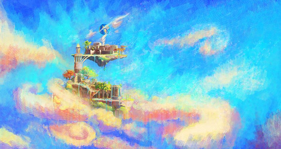 projet école animation 3d et vfx : Le domaine des dieux