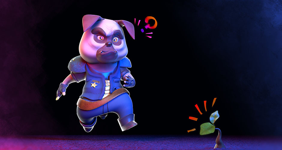 projet école animation 3d et vfx : Doggy Cop