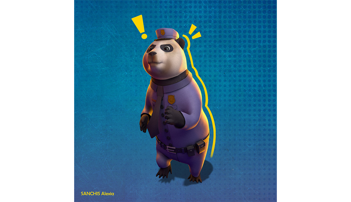 Pand'Agent : projet bachelor animation - 3d vfx & jeux vidéo / game art
