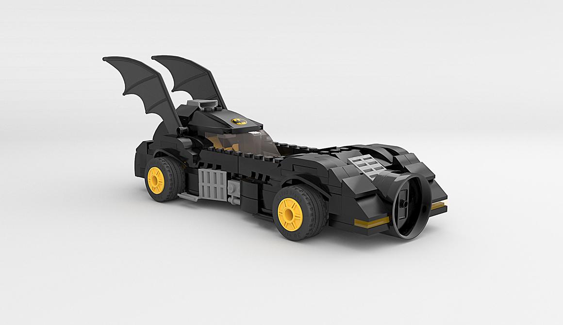 Batmobile Lego : projet bachelor animation - 3d vfx & jeux vidéo / game art