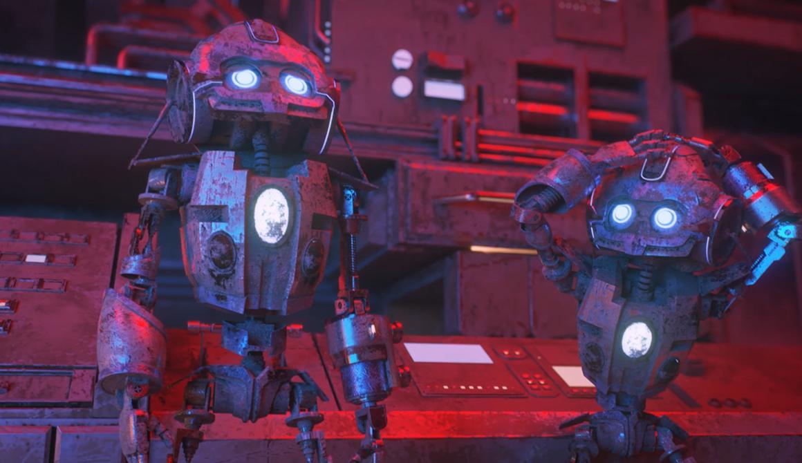 Behind the light : projet bachelor animation - 3d vfx & jeux vidéo
