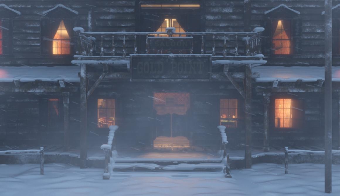 Outlaw : projet bachelor animation - 3d vfx & jeux vidéo / game art