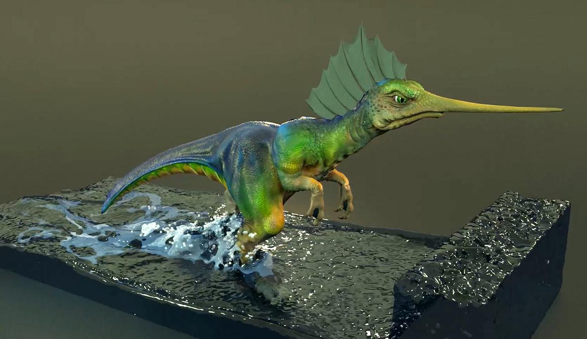 Dino : projet bachelor animation - 3d vfx & jeux vidéo / game art