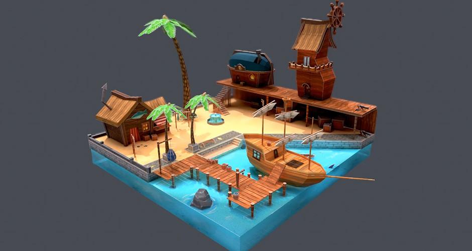 projet école jeux vidéo : Port du Pêcheur