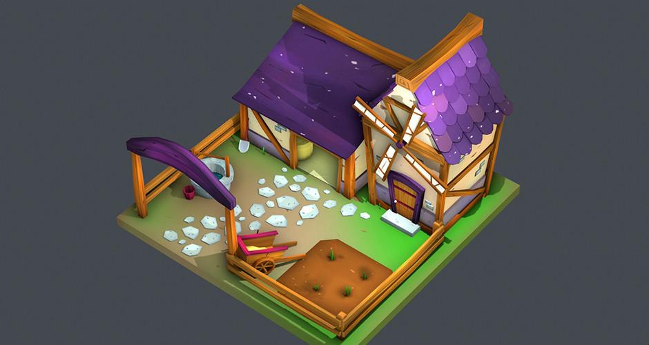 projet école jeux vidéo : The farm