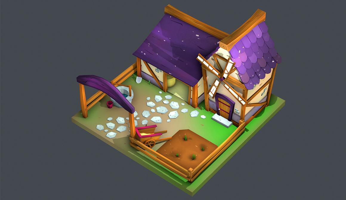 The farm : projet bachelor animation - 3d vfx & jeux vidéo / game art