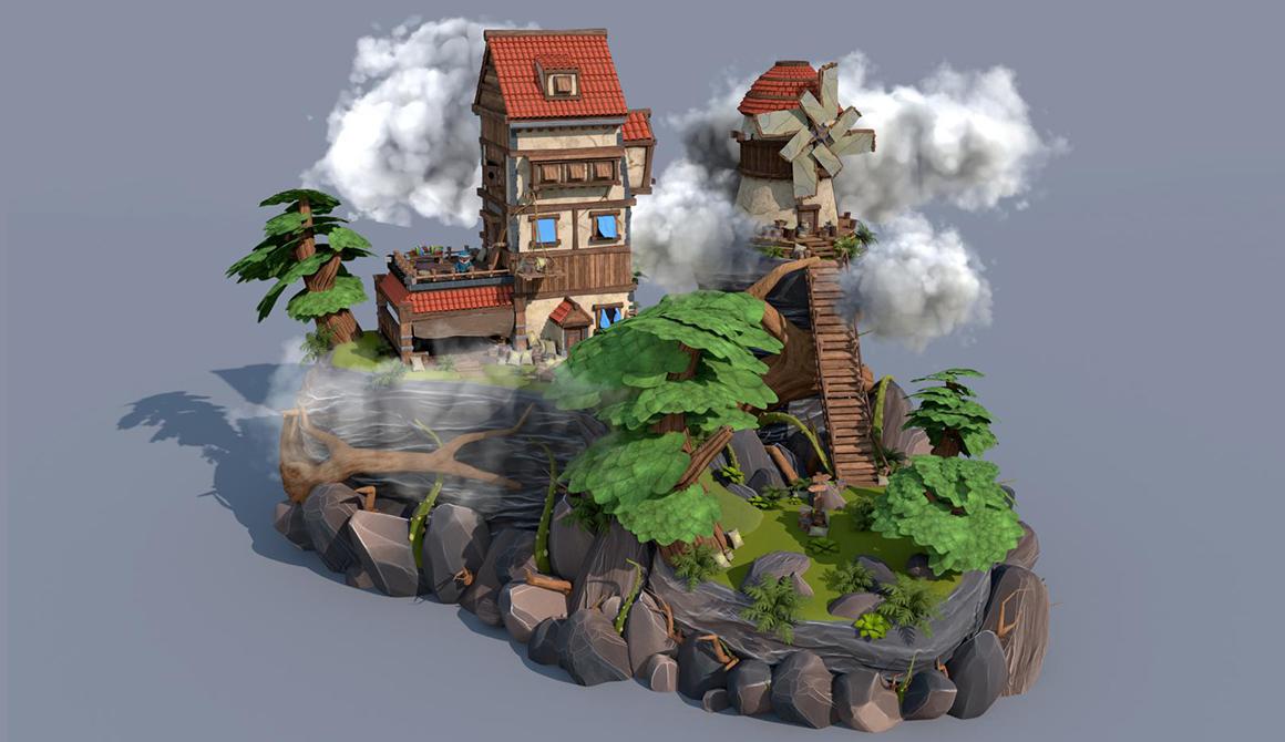 Univers de jeu : projet programme bachelor réalisateur animation 3d vfx