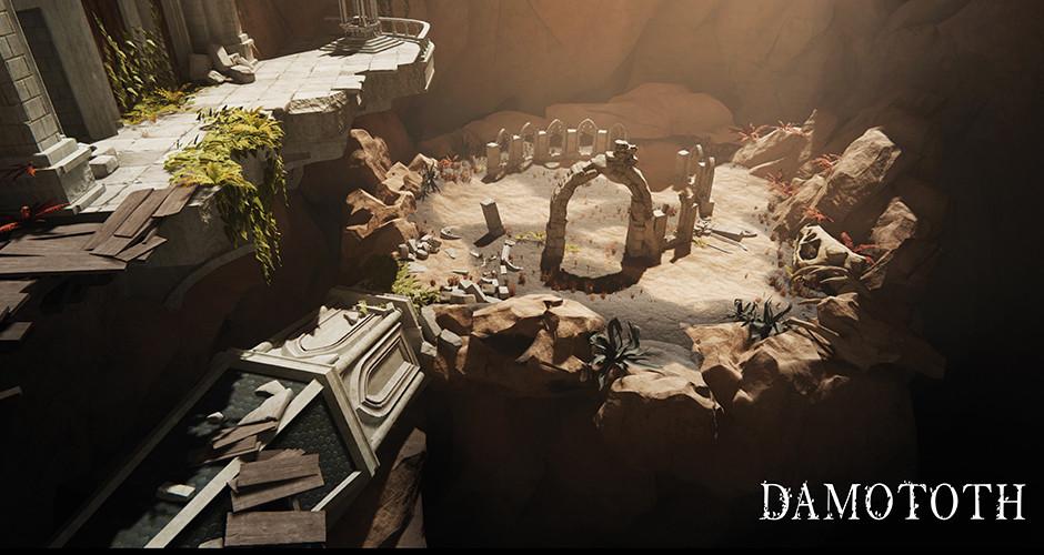 projet école jeux vidéo : Damototh