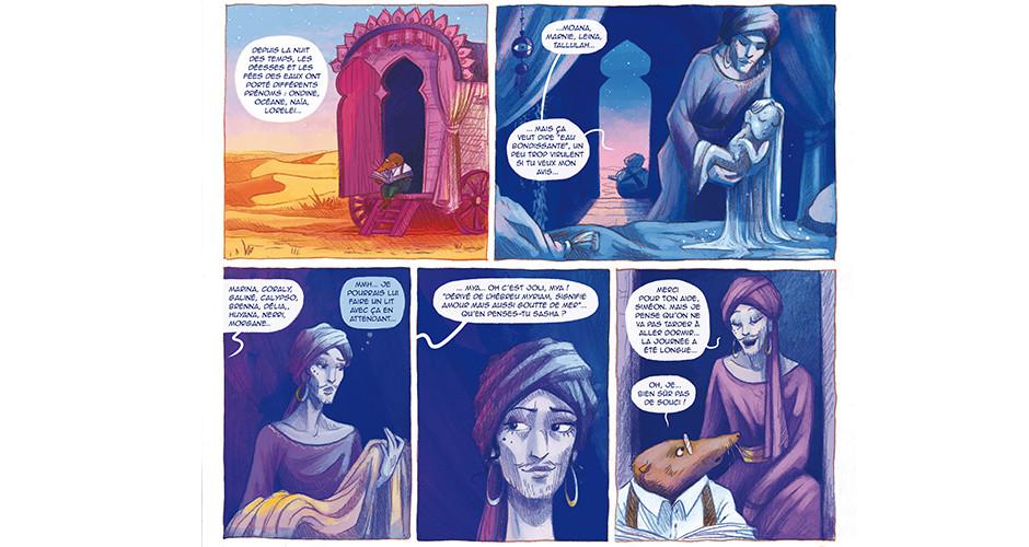 projet école bande dessinée : Caravane