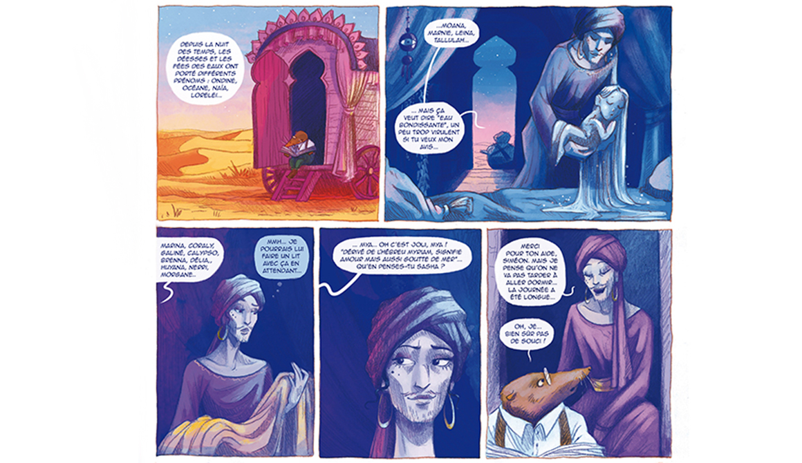 Caravane : projet bachelor auteur / dessinateur de bande dessinée