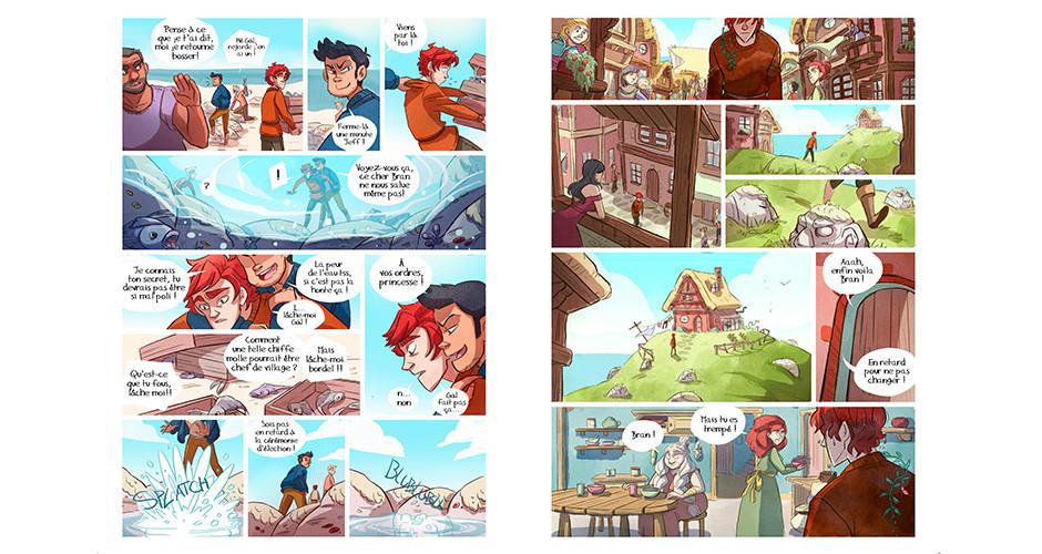 projet école bande dessinée : Le cœur de Talam